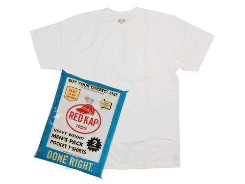 ポケット付きパックTシャツ