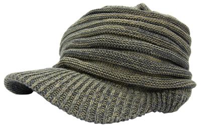 New York Hat#4471ツバ付きニットキャップ通販