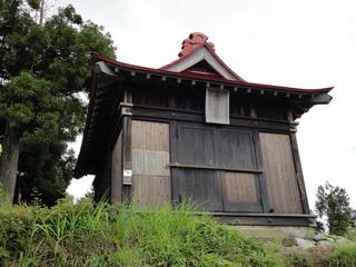 坂戸山山頂のお堂