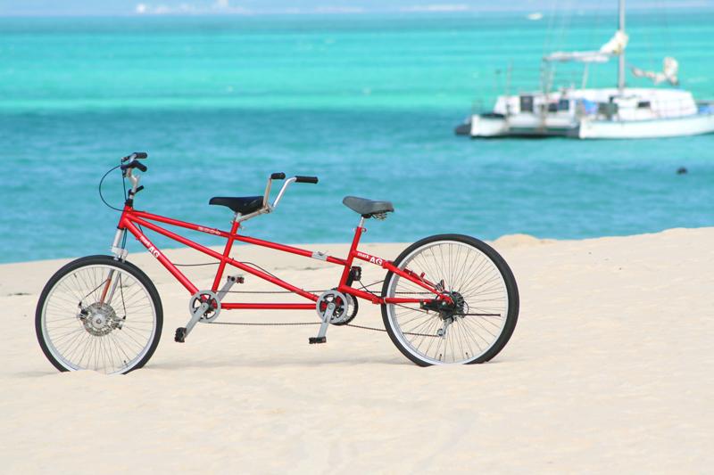 タンデム自転車宮古島へ ...