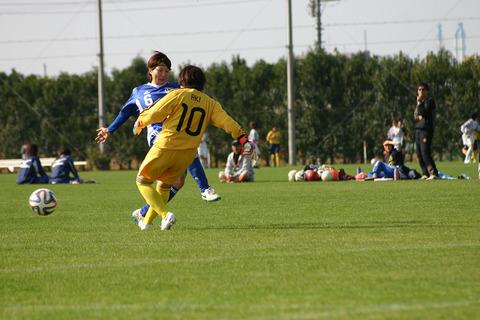 中村選手ゴール