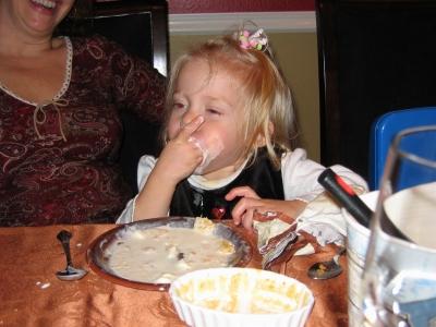 アイスクリームが大好きジャスミン
