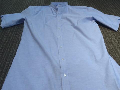 シャツをカスタマイズしてパジャマを仕立ててみました。(2018/8/5)