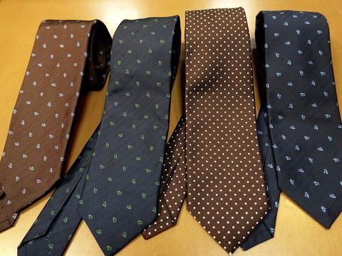 アンジェロフスコのネクタイが入荷しました。(2019/6/17)