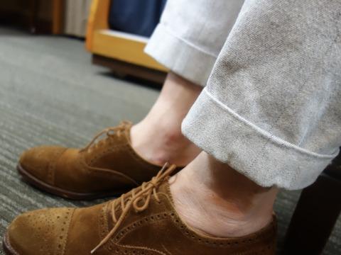 靴を飼い慣らす。(2017/9/10)