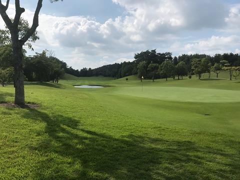 夏ゴルフを楽しむ。(2017/7/26)
