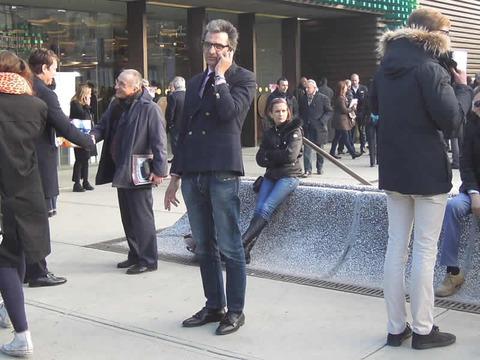 2012年1月ピッティで見かけたすてきな男達 ジャケット編その2(1/23)