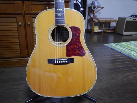 三十五歳になったのを記念して買ったギター(10/15)