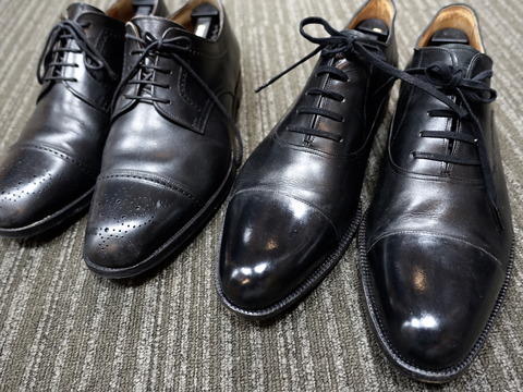 タキシードにふさわしい靴。(2019/5/26)