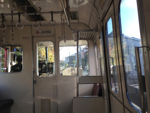 ローカル線で小旅行「葛利毛織工場見学」(11/30)