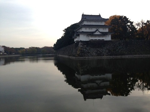 名古屋の朝(11/30)