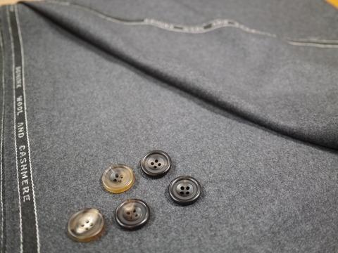 冬、ウールカシミアのフランネルを着る。(11/12)