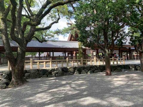 名古屋で一番涼しい場所(2019/8/12)