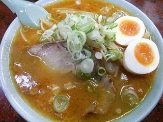 辛味噌チャーシュー大盛+煮卵