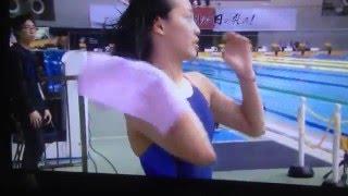【動画】女子水泳 今井月 高1 水着が薄すぎです 浮き出てます