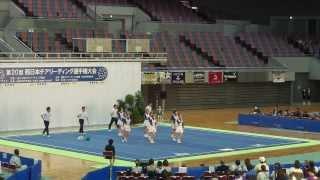 【動画】第20回西日本チアリーディング選手権大会 甲南女子大学