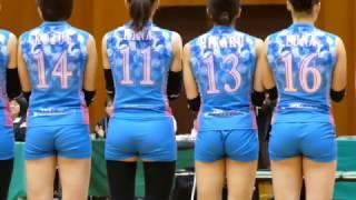 【動画】KUROBEアクアフェアリーズ キッズエスコートと選手紹介