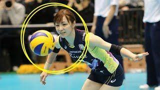 【動画】【バレーボール】リベロ佐藤あり紗。ツヨカワ女神【スーパープレイ】