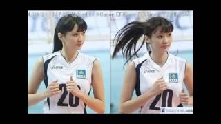 【動画】女子バレー サビーナ選手が美人過ぎる