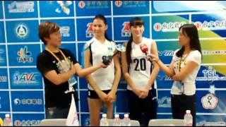 【動画】カザフスタンの女性バレー選手が美しすぎると話題に   Sabina Altynbekova got famous in Taiwan