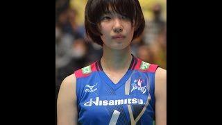 【動画】女子バレー 石井優希(全日本/久光製薬スプリングス)乳揺れ・胸チラ