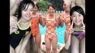 【動画】女子競泳の人魚たち