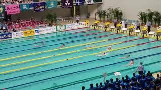 【動画】インカレ2017 女子4x100MR 決勝