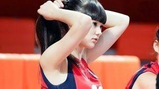 【動画】【美女アスリート】カザフスタンの美しすぎるバレーボール選手 サビーナ アルシンベコバ