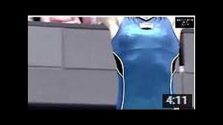 【動画】【美人アスリート】男子が違う意味で見入ってしまう女子体操