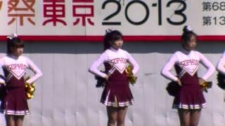 【動画】上智大学チアリーダーの応援 一橋大学クリムゾン 対 上智大学ゴールデンイーグルス
