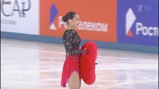 【動画】アリーナ・ザギトワ - Russian Nationals 2019  Ladies