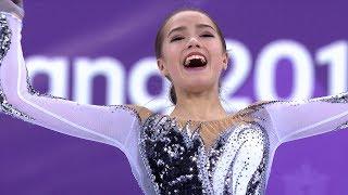 【動画】【NHK】【ノーカット実況なし】15歳で世界最高得点!ザギトワのショートプログラム<ピョンチャン>