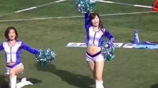 【動画】明治安田パイレーツ チアリーダーの応援