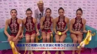 【動画】女子新体操 ハプニング集まとめ