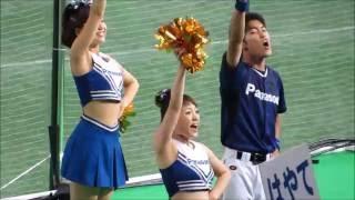 【動画】パナソニック応援団リーダー・チアリーダーの熱演!