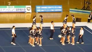 【動画】県立横浜国際高等学校 関東チアリーディング選手権