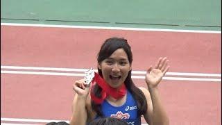 【動画】女子陸上の表彰式って何でこんなに見たくなる?