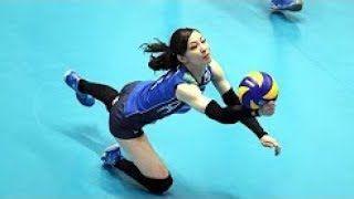 【動画】【バレーボール】美人!!笑顔がとってもかわいい佐藤あり紗選手!どんなボールでも拾いに行く!飛んで回って転がって…最強リベロ!
