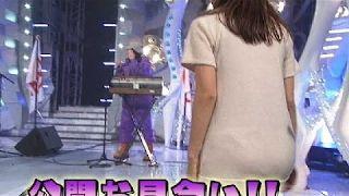 【動画】【放送事故】 女子アナのパンツの透けが 気になってしょうがない映像