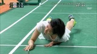【動画】五輪バトミントンで栗原選手のかがみパンチラ(お宝画像)