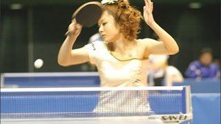 【画像】【美女アスリート】かわいすぎるピンポンママ!卓球女子 四元奈生美さん