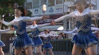 【動画】岡山大学チアリーダーWIZARDS@倉敷天領夏祭り