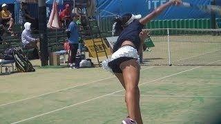 【動画】岡村恭香選手 シングルス3回戦⑤ <久留米国際女子テニス>