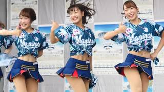【動画】ノリノリ♪「DA PUMP - U.S.A.」いいねダンス「ハジメノヨンポ - 渚の恋は蜃気楼」チアガールが可愛すぎてたまらない