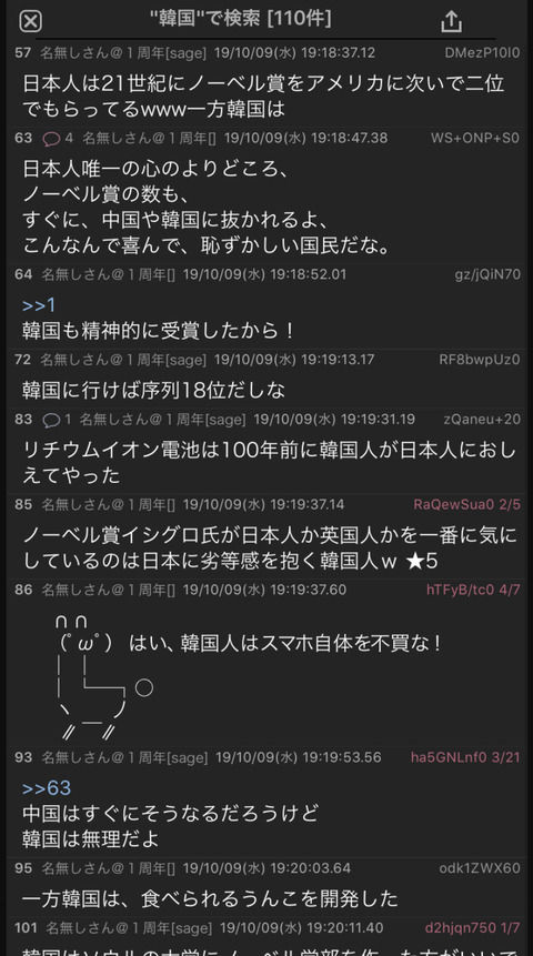 【ネット】ノーベル賞に日本人受賞→特定の国をバカにする普通の日本人さん大量発生中(画像あり)