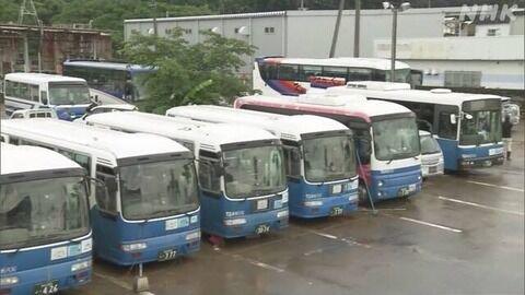 【熊本】「新車を購入したばかりだったのに...無念です」バス会社の車庫水没 23台すべて廃車か 人吉市