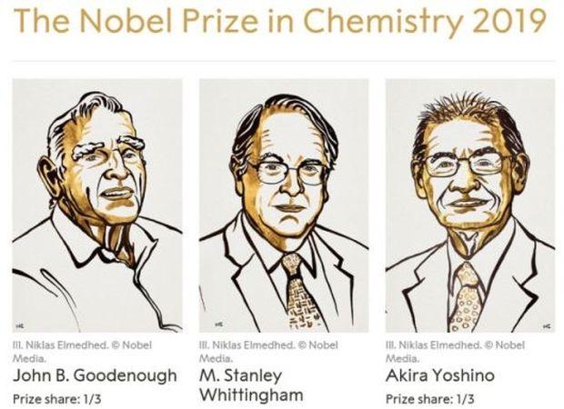 (速報)ノーベル化学賞、日本人など3人が共同受賞=韓国の反応