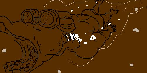彡(゚)(゚)「え!!!コーラで満たされたプールを25m泳ぎ切るだけで一億円!?」