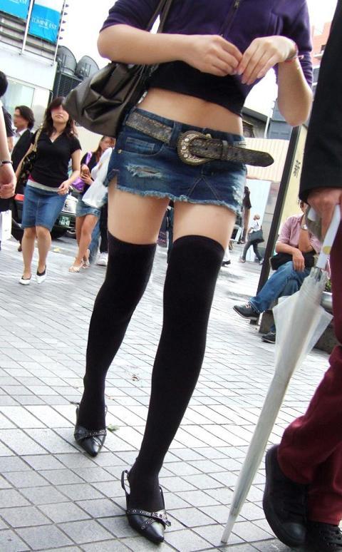 街で見かけたら、えっ!? ってなる超ミニスカお姉さん画像