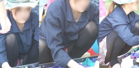 レギンスとかトレンカとか履いてる女の子って結構無防備だよね!